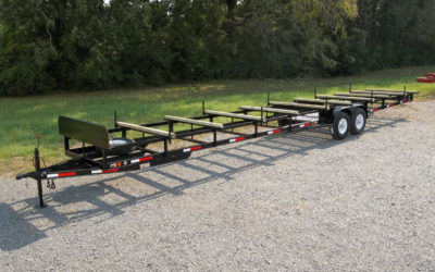 CAR-TEX Pipe Trailer