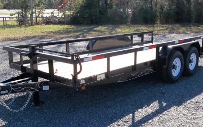 D & P HM Model 60 Series Utility Trailer