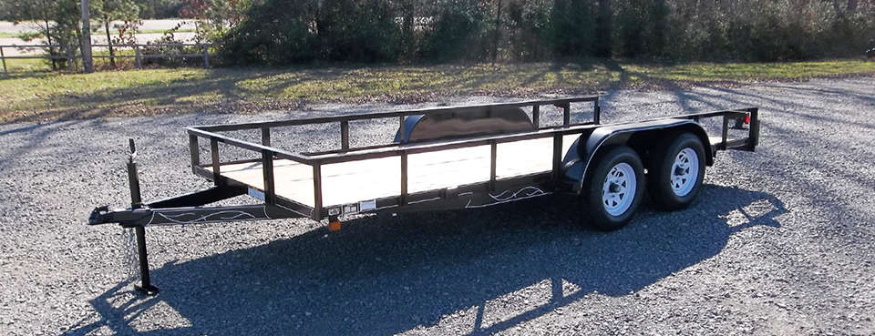 D & P Ultra Light Series Utility Trailer