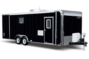 Cargo Mate Living Quarters Trailers